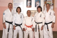 Canadian Dojo heads with Shiroma Seiichi, 9th Dan