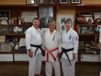 2014-With Iha Sensei at the Hombu Dojo