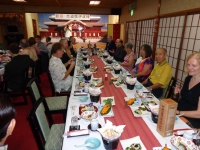 Okinawa 2014-Special dinner hosted by Shido-Kan masters